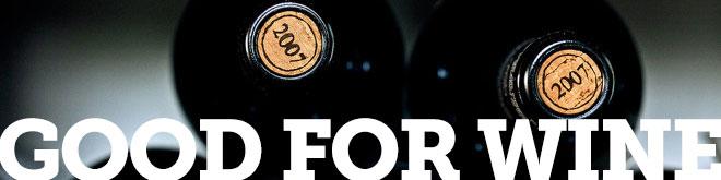 good for wine cork banner