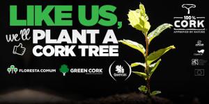 Cork plant a tree